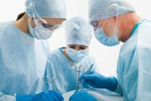 infection nosocomiale contractée lors d'une opération